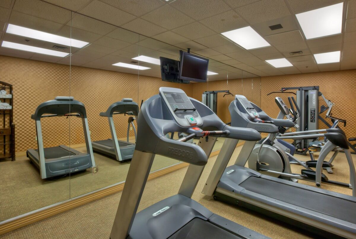 Music Road Resort Fitness Room