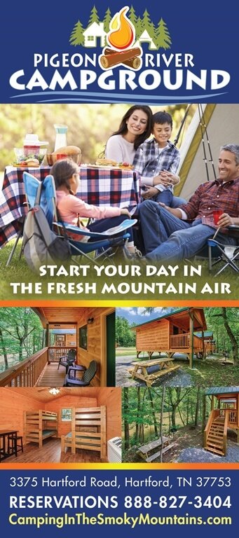Pigeon River Campground Brochure Image