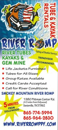 River Romp – Tube & Kayak Rentals