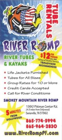 River Romp – Tube & Kayak Rentals