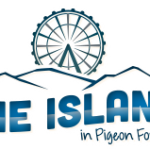 the island logo header