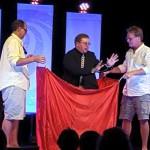 Impossibilities-Magic-Show-3-men-red-drape