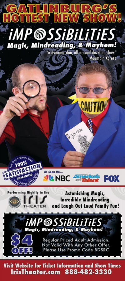 Impossibilities – Magic, Mindreading & Mayhem