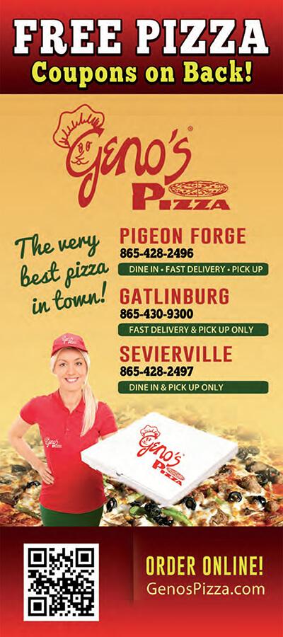 Geno's Pizza Brochure Image