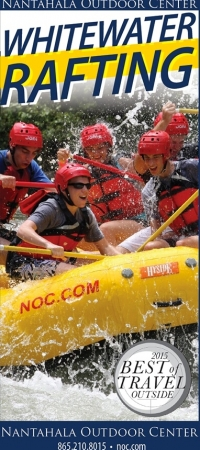 Nantahala Outdoor Center – Whitewater Rafting
