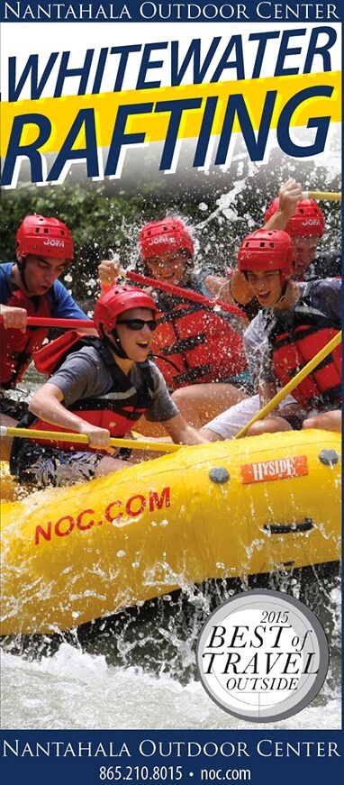 Nantahala Outdoor Center – Whitewater Rafting Brochure Image