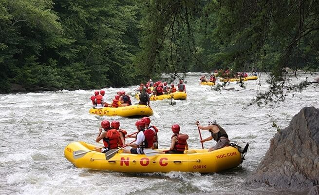 NOC-Rafts-on-River
