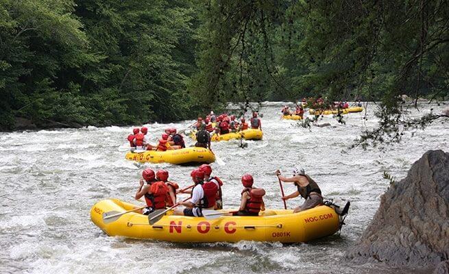 NOC-Rafts-on-River