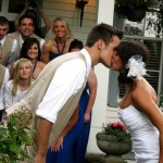 Smokey-Mountain-Sounds-wedding-bride-groom-kissing