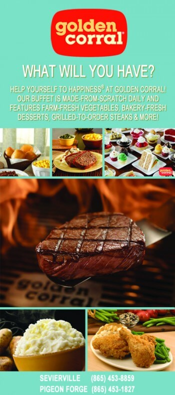 Golden Corral Brochure Image
