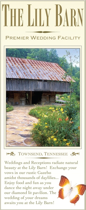 The Lily Barn Garden & Event Center Brochure Image