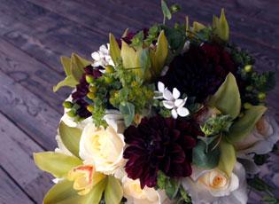 dahlia-bouvardia-orchid-rose-bouquet