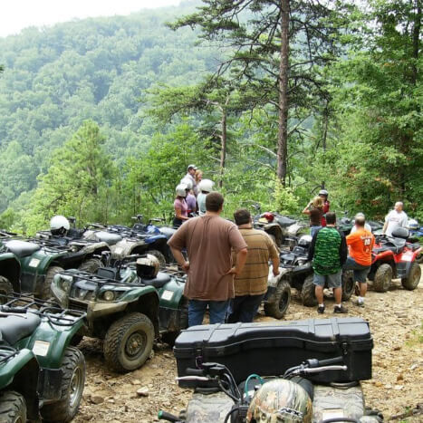 Bluff Mountain ATV Rides of Pigeon Forge, TN