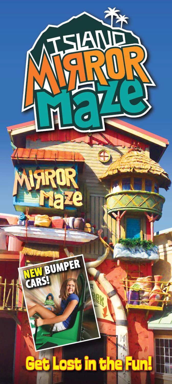 Island Mirror Maze Brochure Image