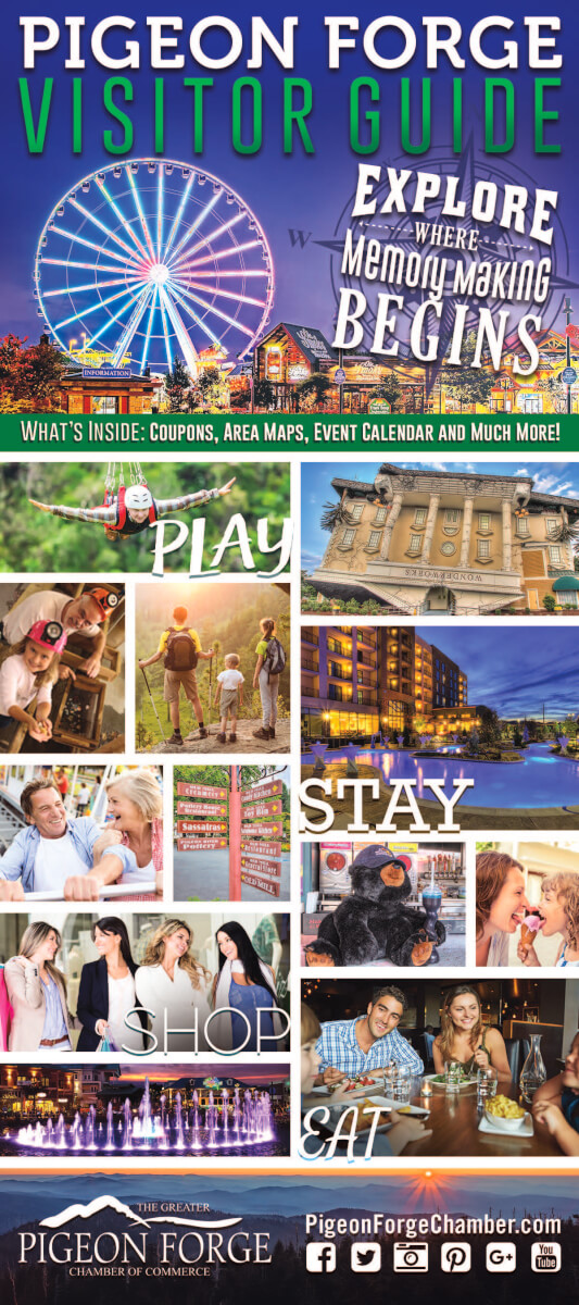 Pigeon Forge Chamber of Commerce Brochure Image