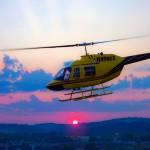 SHT-Helicopter-Sunset