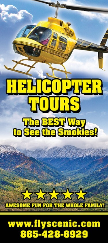 Scenic Helicopter Tours Brochure Image