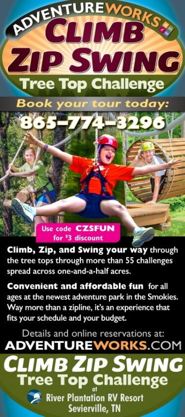 Adventureworks Climb – Zip – Swing Brochure Image