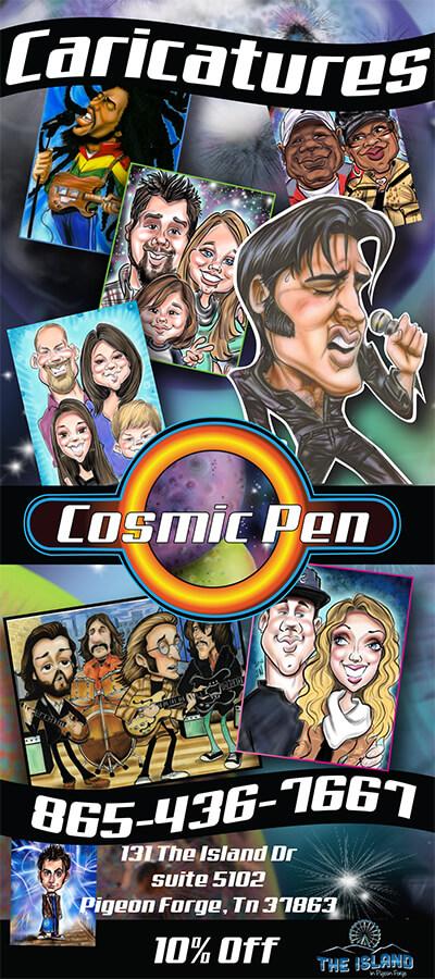 Cosmic Pen Brochure Image