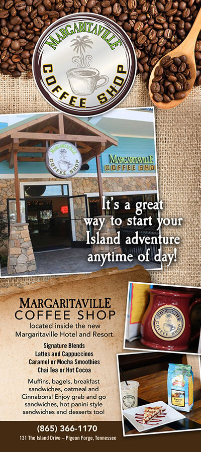 Margaritaville Coffee Shop Brochure Image