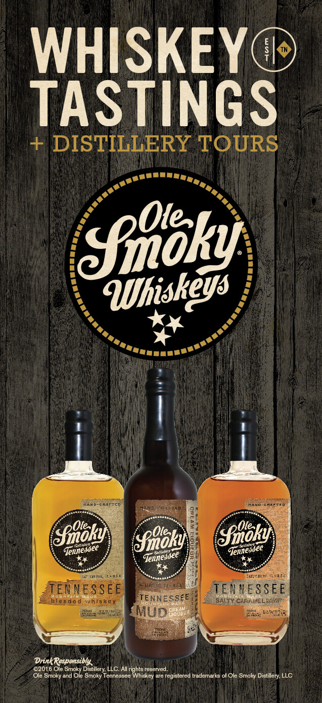 Ole Smoky Whiskey Distillery Brochure Image