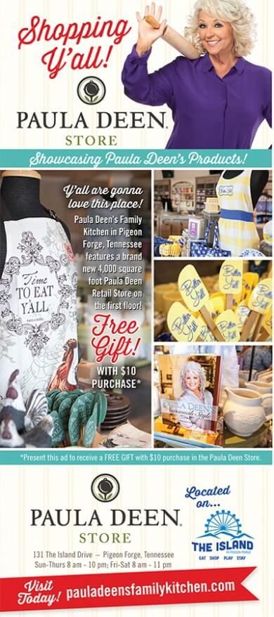 The Paula Deen Store Brochure Image