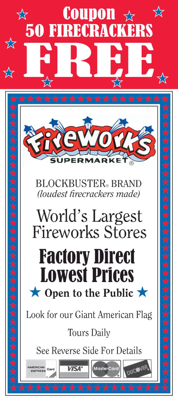 Fireworks Supermarket Brochure Image