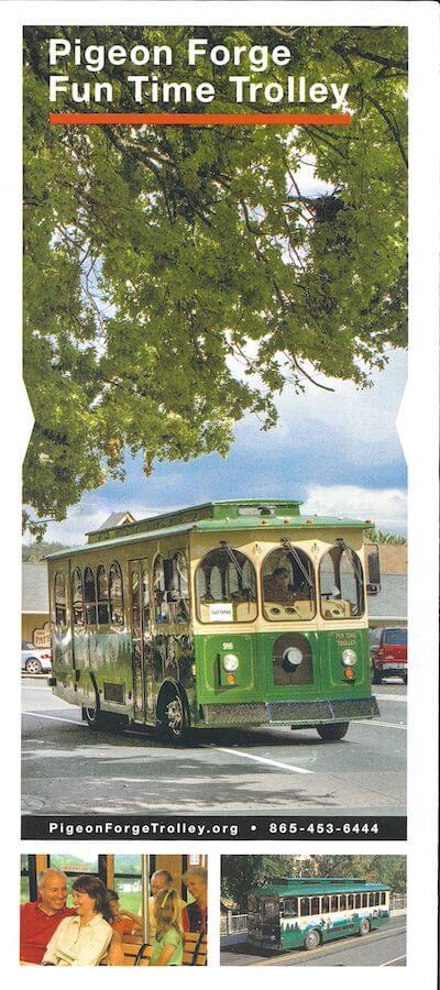 Fun Time Trolley Brochure Image
