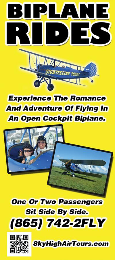 Sky High Air Tours Brochure Image