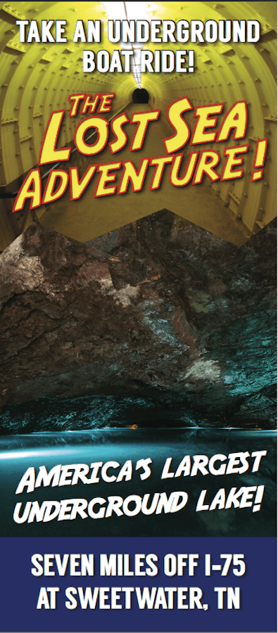 The Lost Sea Adventure Brochure Image