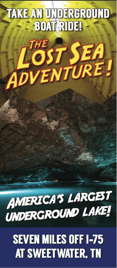The Lost Sea Adventure Brochure Image
