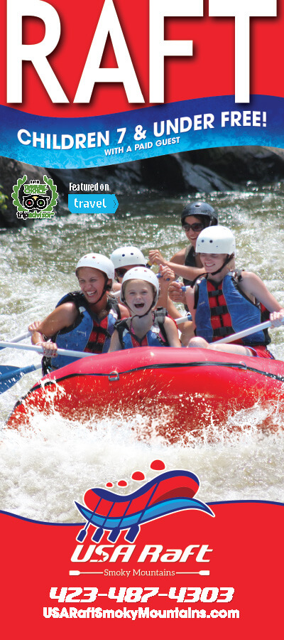 USA Raft Smoky Mountains Brochure Image