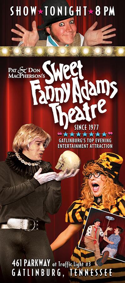 Sweet Fanny Adams Theatre Brochure Image