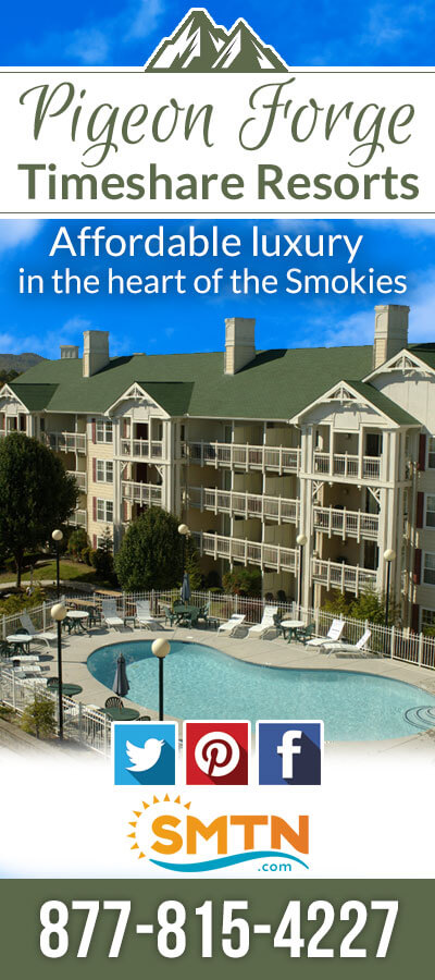 Pigeon Forge Timeshare Rentals Brochure Image