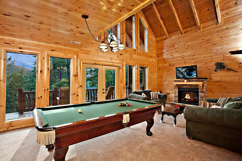 Smoky Mountain Getaway - Hearthside Cabin Rentals