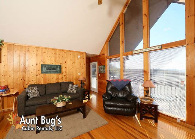 Sun-Sational View - Aunt Bug's Cabin Rentals