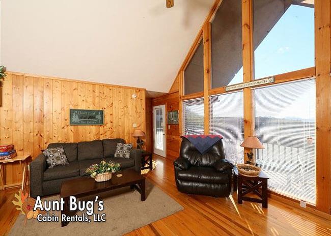 Sun-Sational View - Aunt Bug's Cabin Rentals