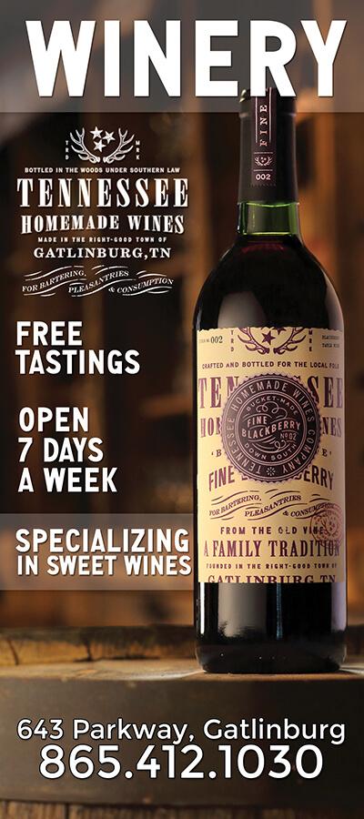 Tennessee Homemade Wines Brochure Image