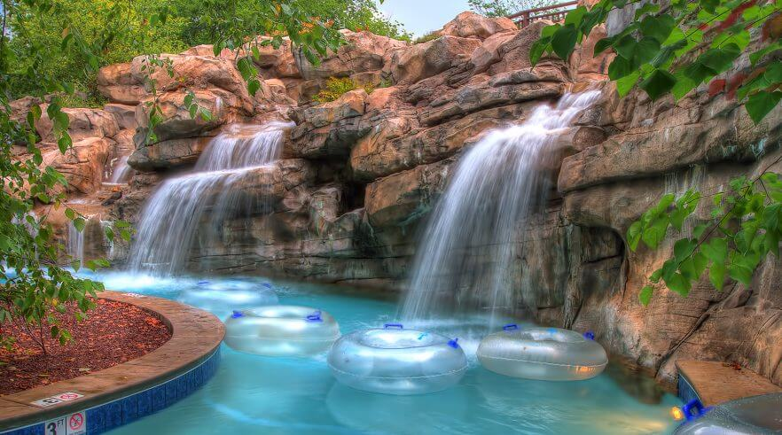RiverStone Resort & Spa in Pigeon Forge - Lazy River