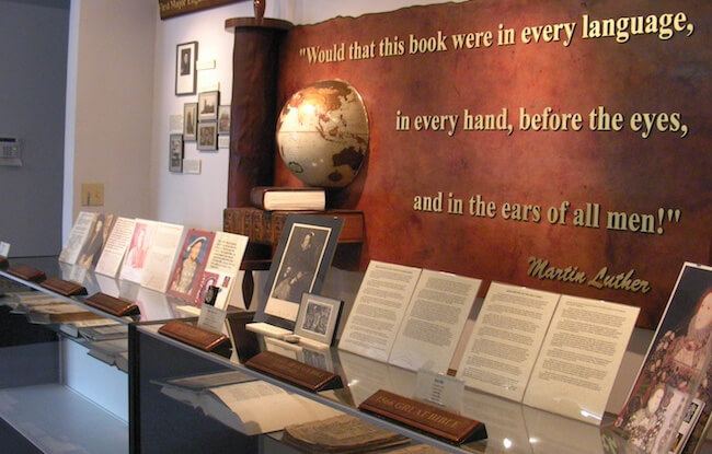 Treasuring the World Rare Bible & Book Museum
