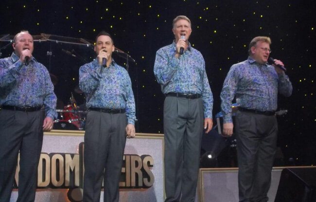 The Kingdom Heirs - Music at Dollywood in Pigeon Forge, TN