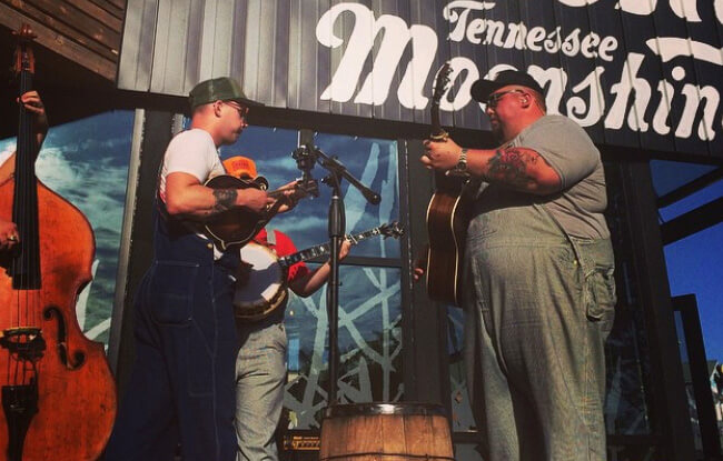 Ole Smoky Distillery - Live music in Pigeon Forge, TN at The Island
