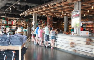 Ole Smoky Moonshine Tasting Table