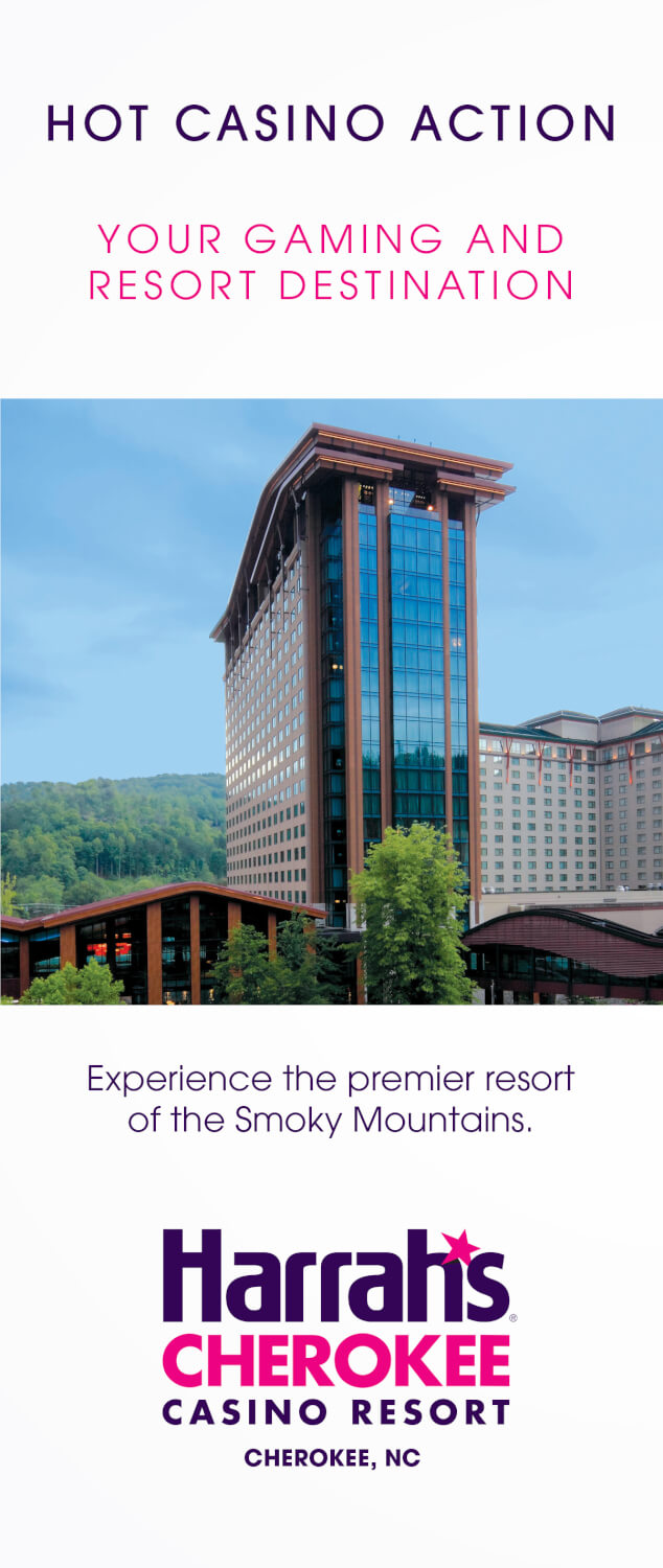 Harrah's Cherokee Casino Resort Brochure Image