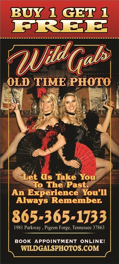 Wild Gals Old Time Photo Brochure Image