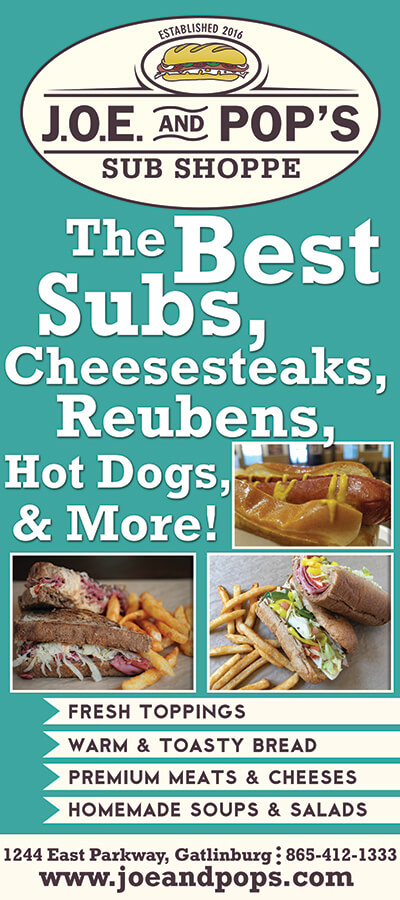 J.O.E. and Pop's Sub Shoppe Brochure Image