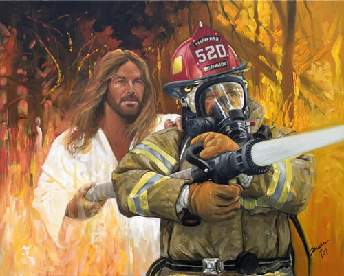 Fireman's Prayer - Gatlinburg Edition