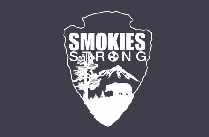 Smokies Strong Decal