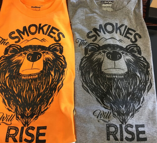 Smokies Will Rise Charity Fundraiser Shirt