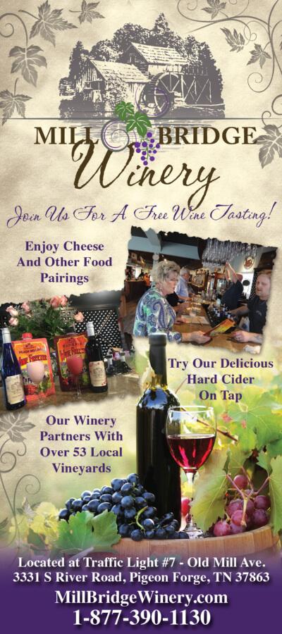Mill Bridge Winery Brochure Image